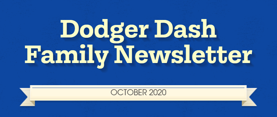 October 2020 Dodger Dash